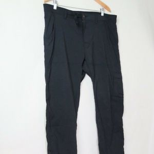 Prana stretch zion pants grey hiking cargo 38 X 30